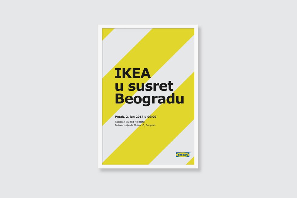 IKEA Meets Belgrade Event Poster
