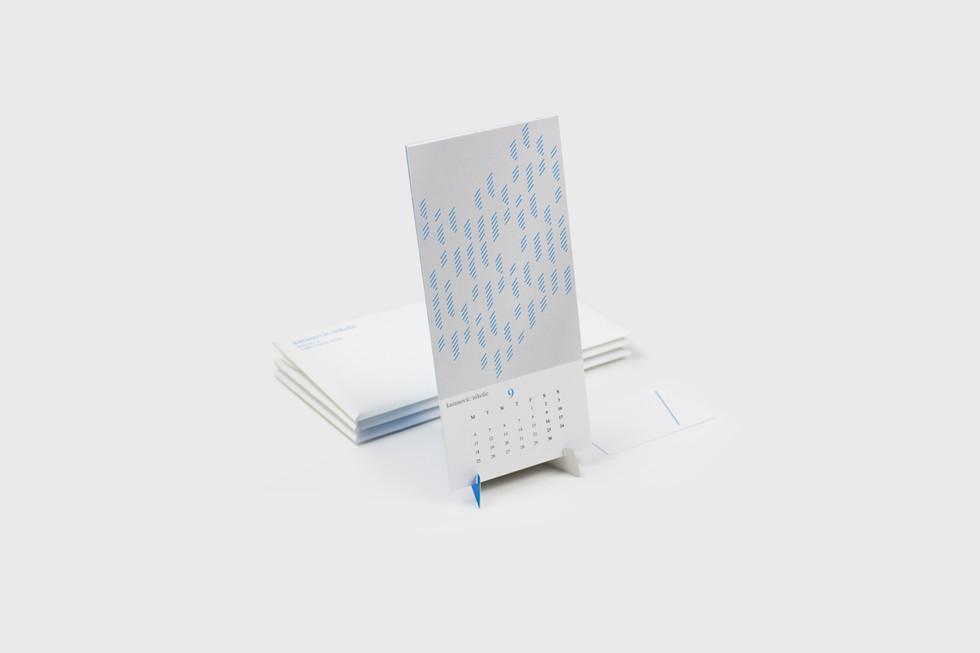 Karanovic&Nikolic Calendar 2017 Design 03