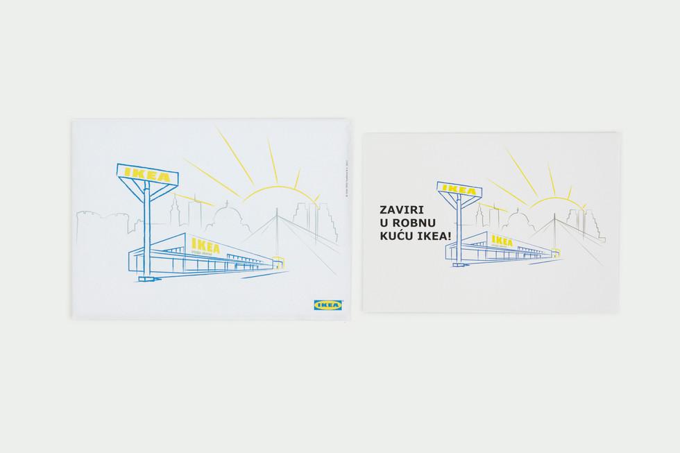 IKEA Belgrade Store Opening Invitation
