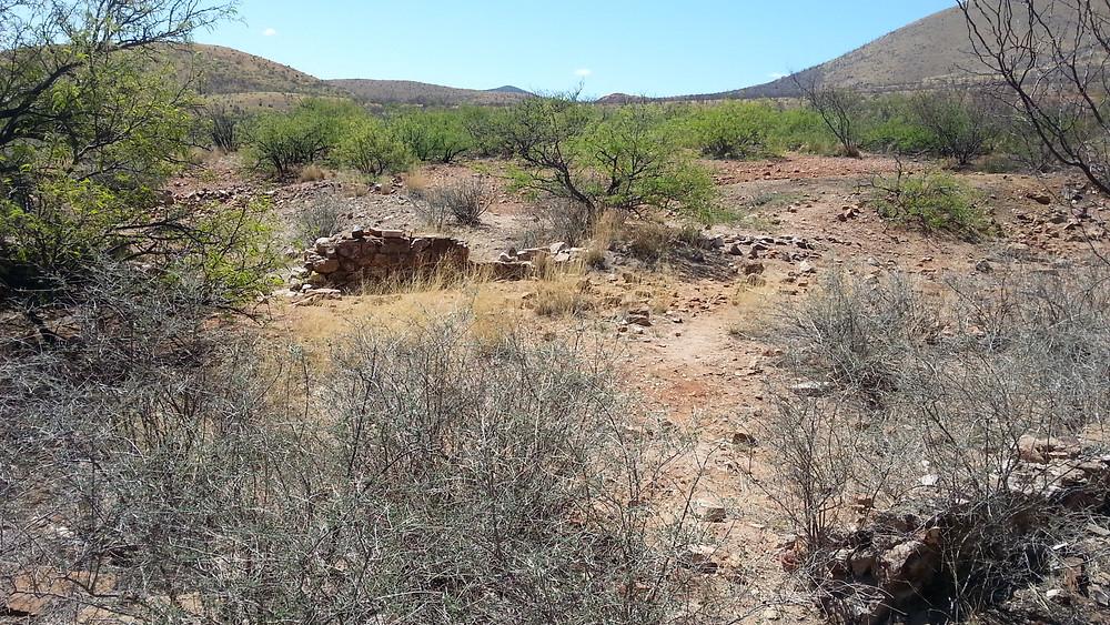 Courtland ruins.
