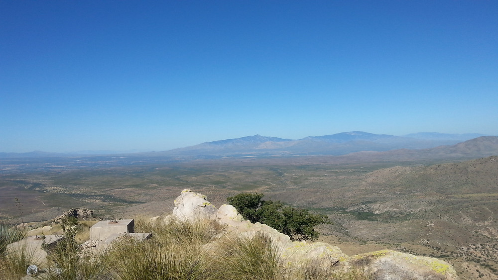Looking Toward the Northwest at Rincon Peak