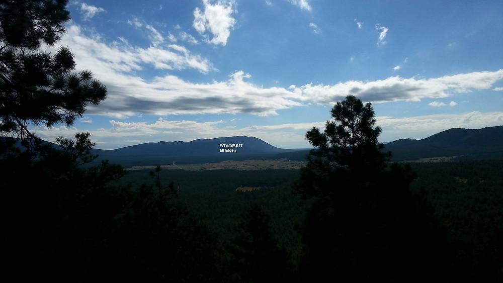 Mt. Elden From Wing Mtn.