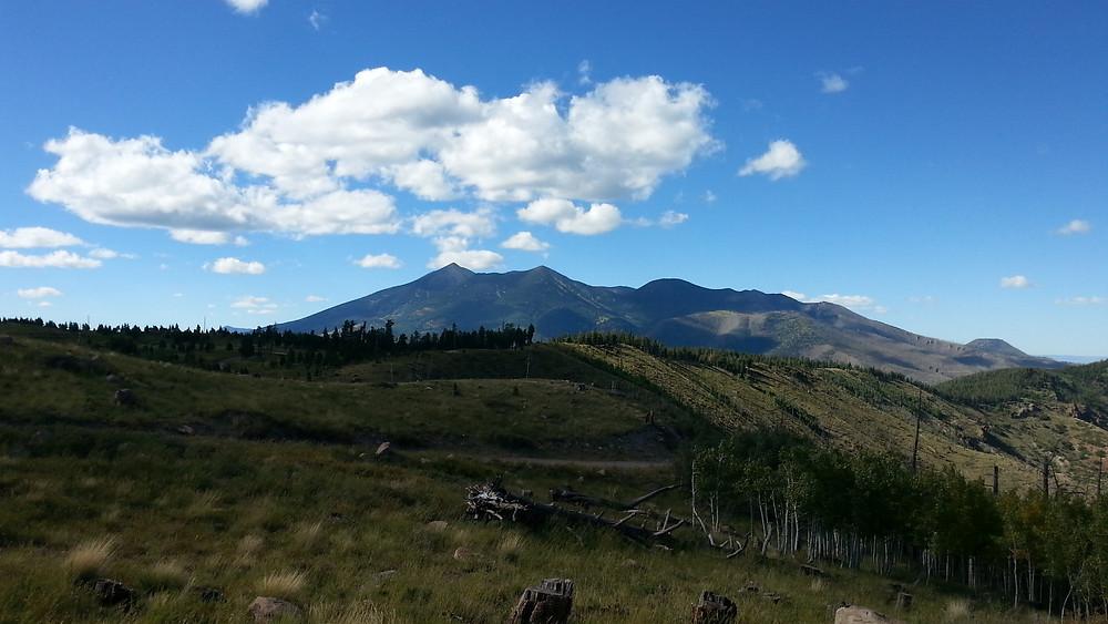 Same as last peak from from Mt. Elden.