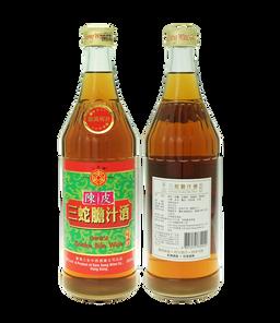 陳皮三蛇膽汁酒600ml