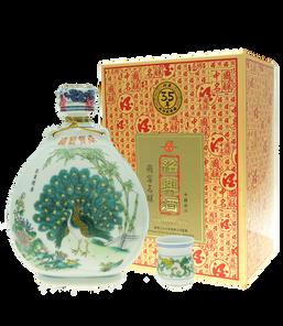 35年孔雀瓶紹興酒680ml