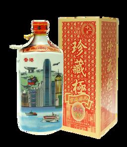 12年話梅花彫(香港風景)600ml