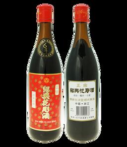 6年正宗紹興花彫酒640ml