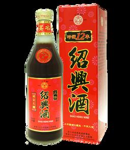 12年正宗紹興酒600ml