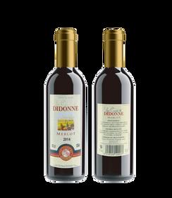 法國德安利紅酒375ml