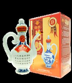 15年花彫(酒壺瓶)550ml
