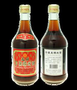 超級黑糯米酒750ml
