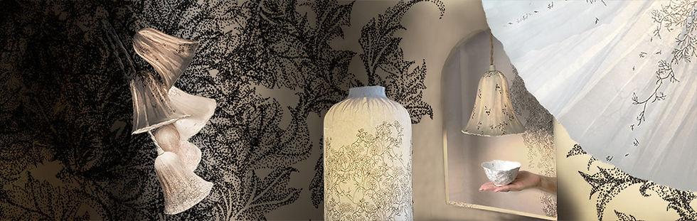 lampe papier | Nathanaëlle Lobjoy Création | France