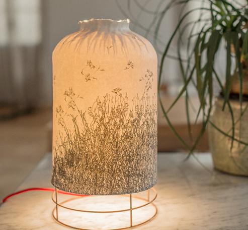 lampe bouteille envole