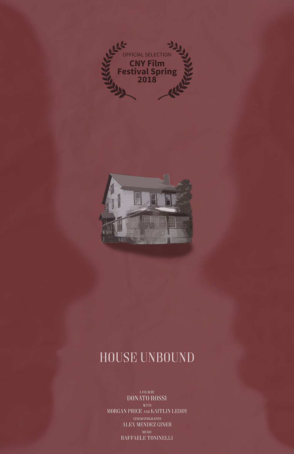 Excited to announce that my latest short-film House Unbound has been selected for the upcoming Central New York Festival.  The film will be screened at The Palace Theatre - 2384 James St, Syracuse, NY 13206, scheduled in the fourth section starting at 6:45 pm this Saturday.