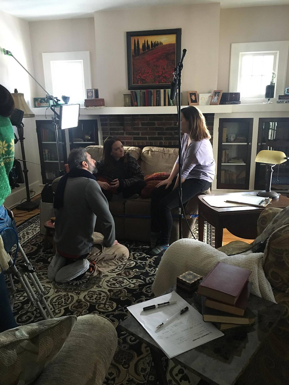 """On-set for """"House Unbound"""""""
