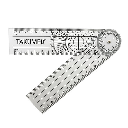 プラスチック 角度計 ゴニオメーター ポケットサイズ Type D