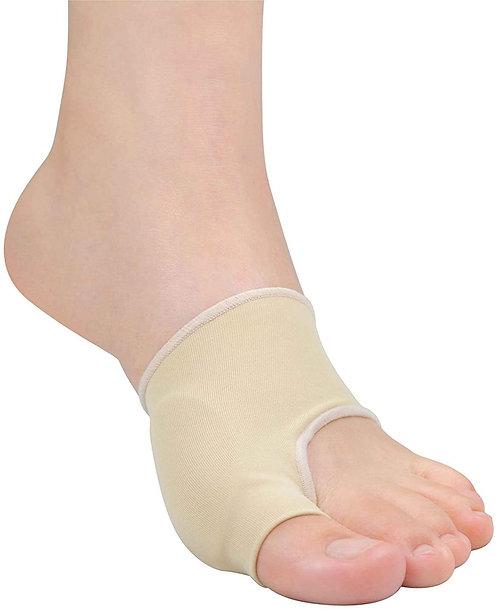 外反母趾サポーター 薄型 2枚入 抗菌タイプ バイオジェル100%