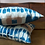 Thumbnail: Indigo Ikat Pair of Cushions
