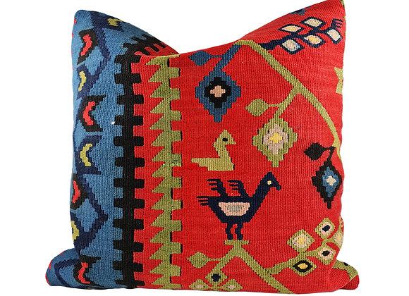 50 x 50cm Bird Kilim Cushion