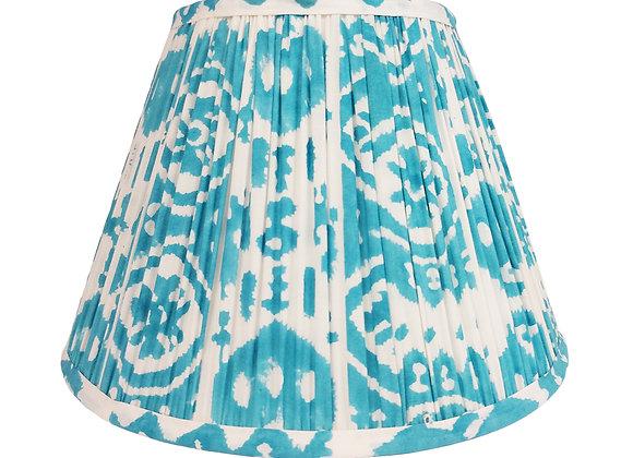30cm Basa Ikat Cotton Gathered Lampshade