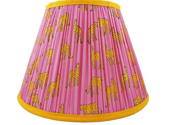 30cm Pink Kotiya Cotton Gathered Lampshade