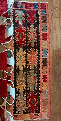 Pomegranate  Vintage Persian Wool Rug