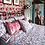 Thumbnail: Equus Star Quilted Throw Pink 100% Cotton