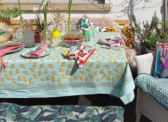 Sky Kotiya Table Cloth 100% Cotton