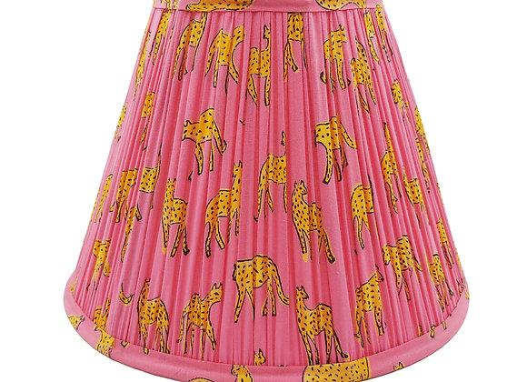 25cm Pink Kotiya Cotton Gathered Lampshade