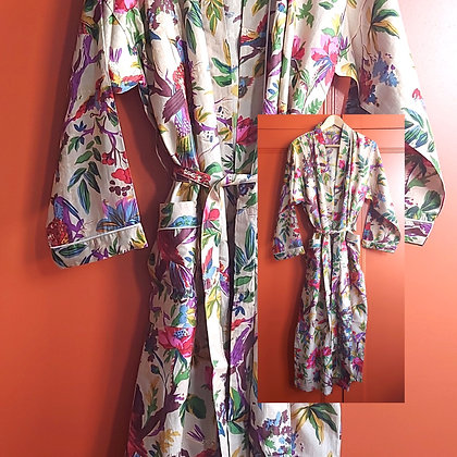 Verity Cotton Robe / Dressing Gown