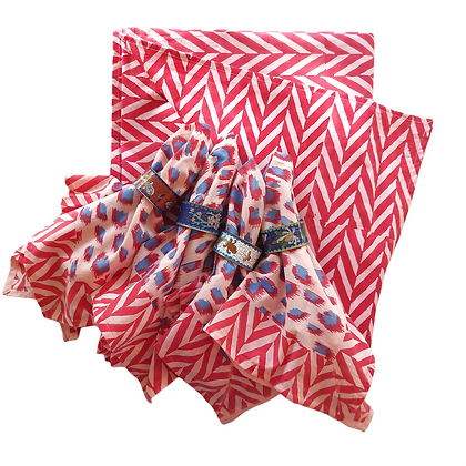 Celebration Candy Table Cloth & Napkin Set
