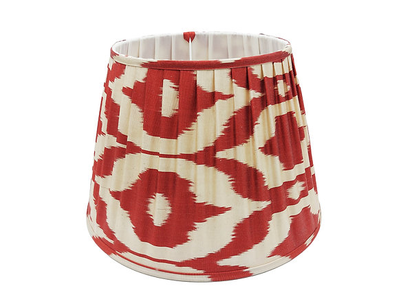 40cm Paprika Silk Pleated Lampshade