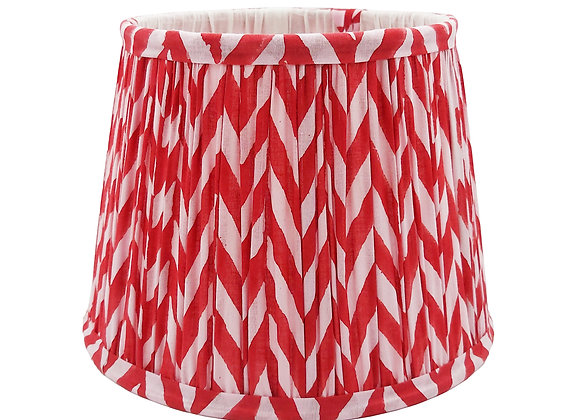20cm Candy Pink Webster Cotton Gathered Lampshade