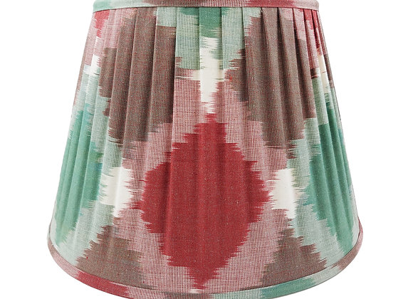 35cm Solitaire Silk Pleated Lampshade