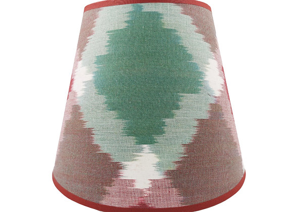 25cm Solitaire Silk Card Conical Lampshade