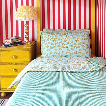 Reversible Sky Cotton Bedding Set