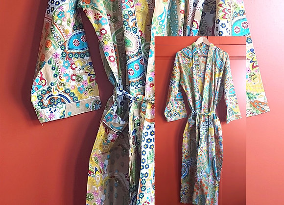 Passion Cotton Robe / Dressing Gown
