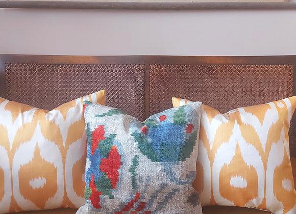 Velvet Tulip Cushion