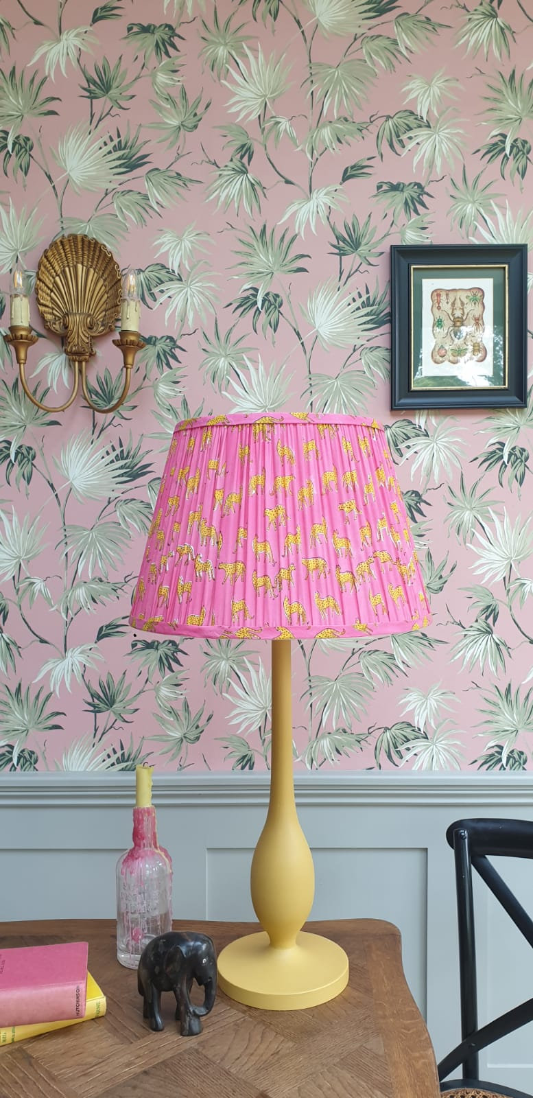 Gathered Lampshades | That Rebel House