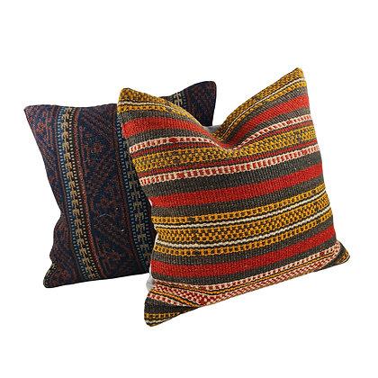 Kilim Cushion Pair - Jerry & Stanton