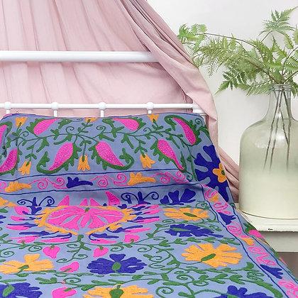 Fleek Embroidered Cotton Suzani