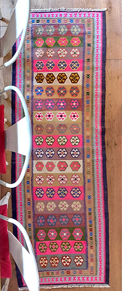The Peggy Vintage Cotton Runner