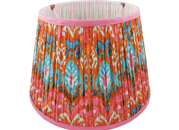 35cm Ibizia Ikat Cotton Gathered Lampshade