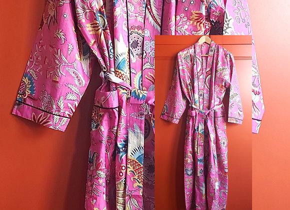 Fabiosa Cotton Robe / Dressing Gown