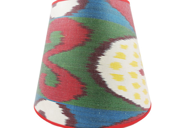 25cm Chicana Silk Card Conical Lampshade