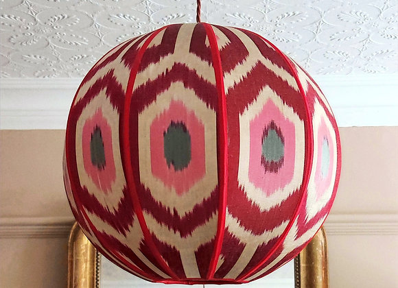Orb Ikat Ceiling Shade