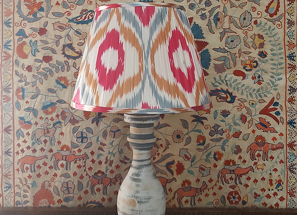 35cm Diamond Pink Silk Lampshade