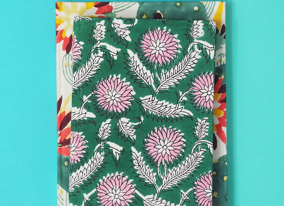 Thrive & Botanical Fabric Notebook Gift Set