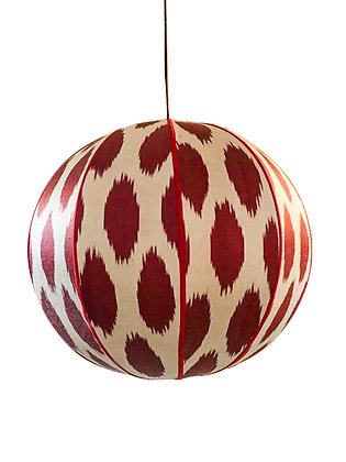 Orb Red Spot Ceiling Shade