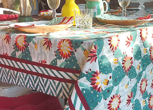 Thrive Table Cloth 100% Cotton